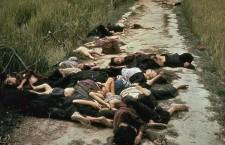 Campesinos vietnamitas de My Lai. Marzo de 1968